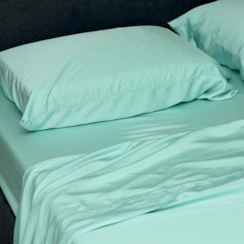Organic Bamboo Bed Sheets By SHOO FOO   100% Bamboo   OCEAN Green   Deep  Pocket   300 TC : Quilts U0026 Coverlet Sets   Best Buy Canada