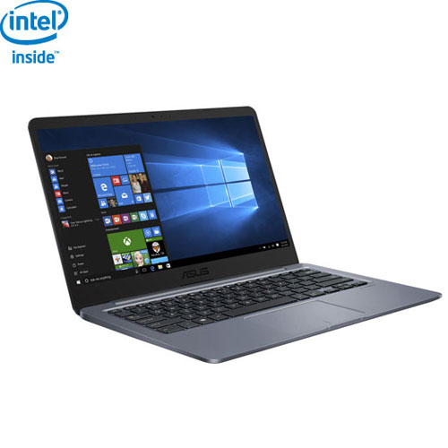 "ASUS 14"" Laptop - Star Grey (Intel Dual-Core Celeron N3060/64GB eMMC HDD/4GB RAM/Windows 10)"