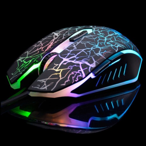 axGear USB Gaming Optical Mouse Scroll Wheel Mice For Desktop Laptop Led
