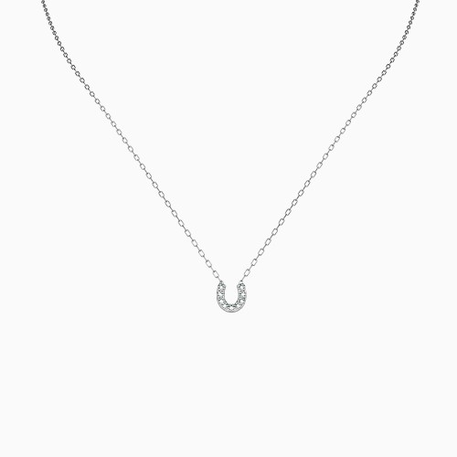 U Bling Necklace - Silver