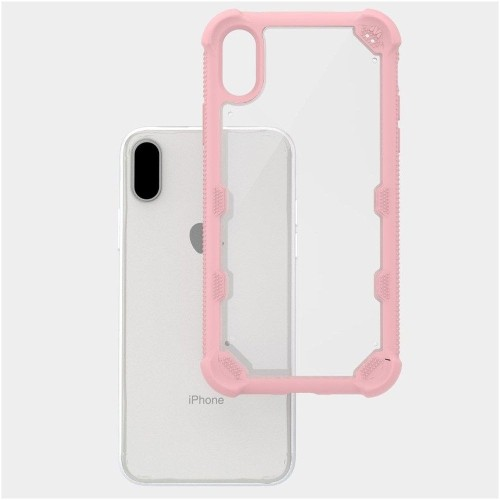 sports shoes 28794 d1956 Insten Fitted Soft Shell Case for iPhone X - Clear;Rose Gold