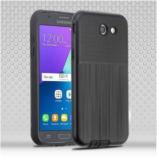 Insten Hard Case For Samsung Galaxy J3 (2017)/J3 Eclipse/J3 Emerge/J3 Luna Pro, Black