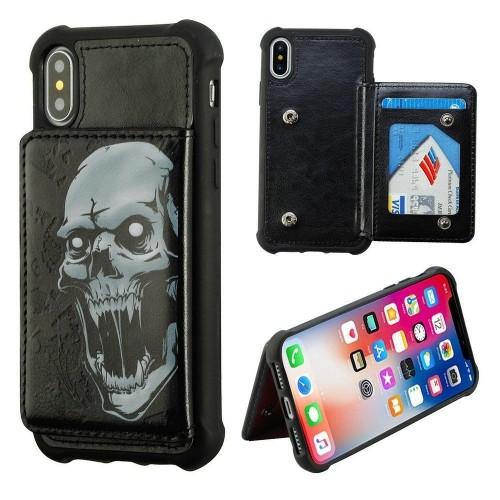 cheaper fad55 85e1f Insten Wallet Case for iPhone X - Black