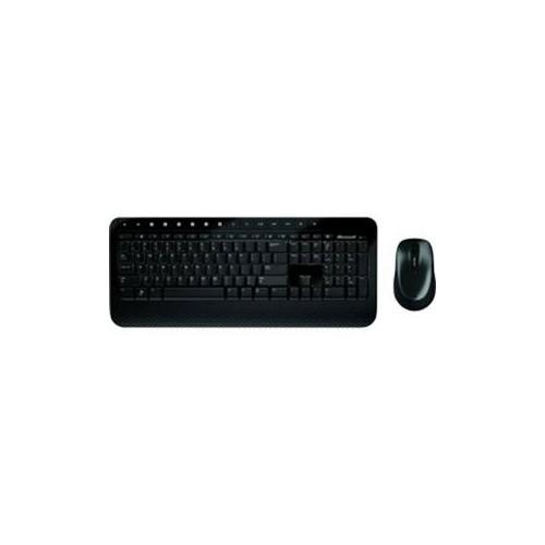MICROSOFT WIRELESS DESKTOP 2000 M7J-00002 BLACK 104 NORMAL KEYS USB RF WIRELESS ERGONOMIC KEYBOARD & MOUSE