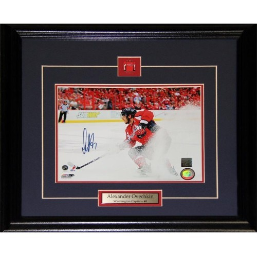 028033c29 Alexander Ovechkin Washington Capitals Signed 8x10 Frame - Online Only