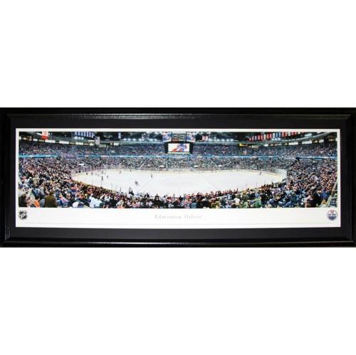 Edmonton Oilers Rexall Place Panorama Frame : NHL Memorabilia ...