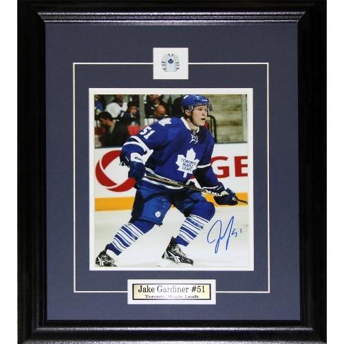 93fe86ebc Jake Gardiner Toronto Maple Leafs signed 8x10 frame - Online Only