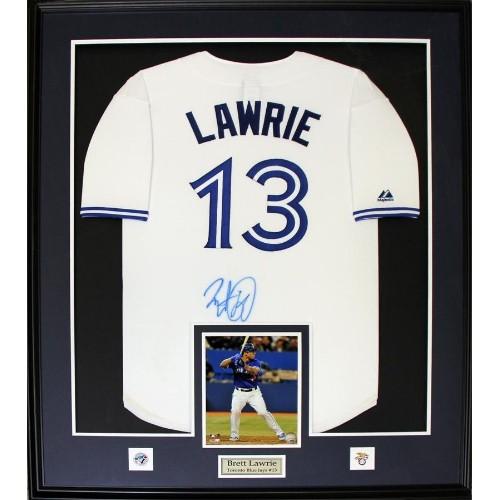 Brett Lawrie Toronto Blue Jays signed jersey frame : More Sports ...