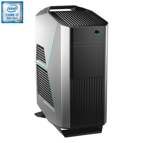 Alienware Aurora Desktop PC (Intel i7-8700/1TB HDD/16GB Optane/16GB RAM/NVIDIA GeForce GTX 1060 (6GB GDDR5)/Windows 10)