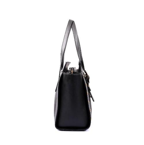 84576b4289f22 Karla Hanson Julie Women s Tote Bag Black Grey   Crossbody Bags - Best Buy  Canada