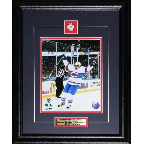 cheaper 03999 79d5d Brendan Gallagher Montreal Canadiens 2016 Winter Classic 8x10 frame