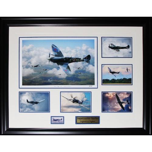 Vickers Supermarine Spitfire by Barrie Clark Fine Art Militaria ...
