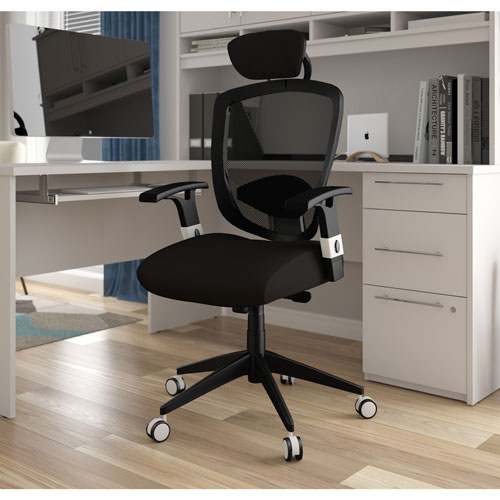 bestar galaxy ergonomic high back executive chair black office chairs best buy canada. Black Bedroom Furniture Sets. Home Design Ideas