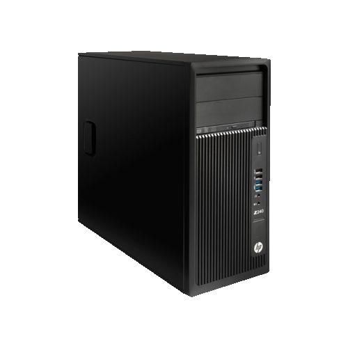 HP Z240 Workstation PC Desktop (Intel Core i7 / 16GB RAM / Intel HD Graphics 630 / Windows 10) - (2TF25UT#ABA)