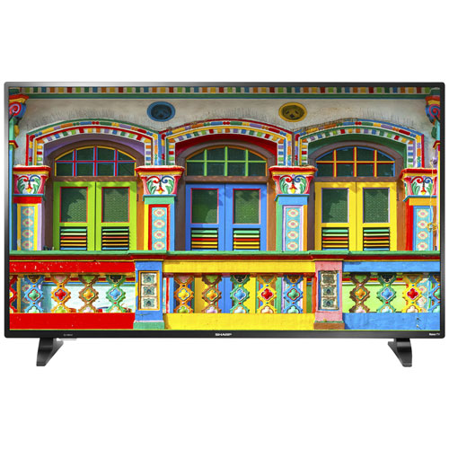 "Sharp 43"" 1080p HD LED Roku OS Smart TV (LC-43LB601C)"