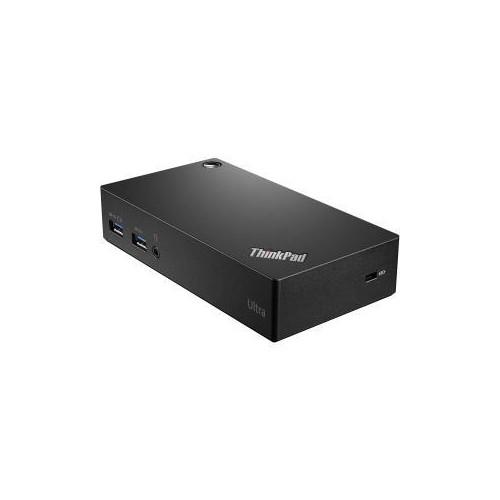 LENOVO THINKPAD USB 3.0 ULTRA DOCK-US 40A80045US (SUPER SPEED USB 3.0, USB 2.0, DISPLAY PORT, HDMI)