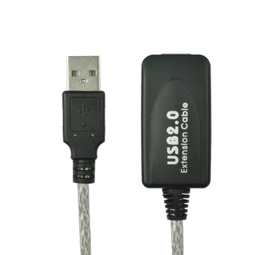 axGear Câble d'extension USB USB 2.0 mâle à femelle Booster Extender AA répéteur de fil M / F AA 30ft 10M