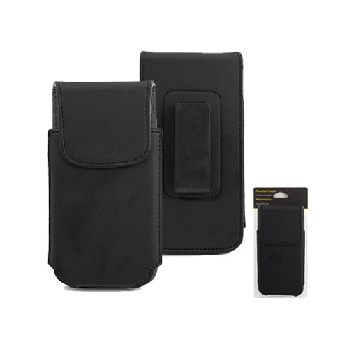 Smartphone Experts PU Leather Holster with Swivel Clip for BlackBerry Leap