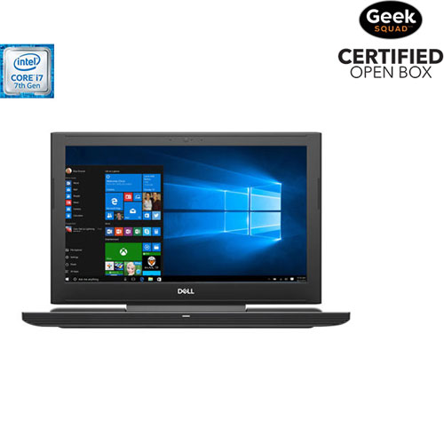"Dell 15.6"" Gaming Laptop (Intel Core i7-7700HQ/256GB SSD/1TB HDD/16GB RAM/Win 10) - English-Open Box"
