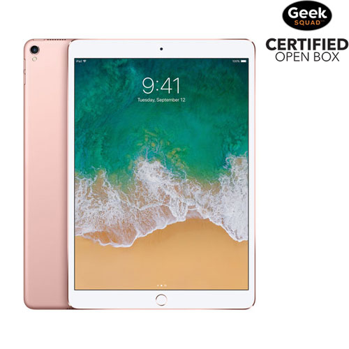 "Apple iPad Pro 10.5"" 64GB with Wi-Fi - Rose Gold - Open Box"