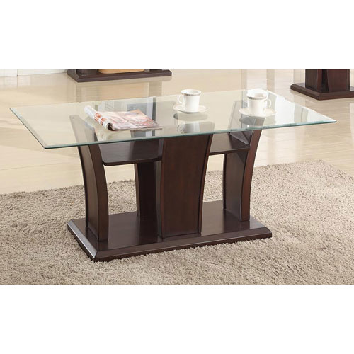 rectangle end table. Ambrose Contemporary Rectangular Coffee Table - Espresso : Tables Best Buy Canada Rectangle End L