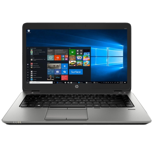 "HP Elitebook 840 G1 Laptop 14"" Display, Intel Core i5, 8GB RAM, 320GB HDD, Windows 10 Pro - Refurbished"