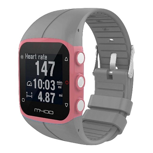 876d3340196c4f StrapsCo Replacement Band Strap for Polar M430 GPS Running Watch in Grey |  Best Buy Canada