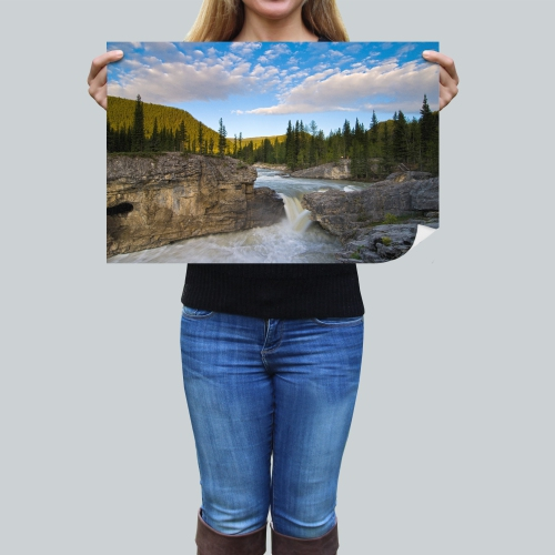 """Printscapes Wall Art: 24"""" x 16"""" Canvas Premium Art Print - Scenic by Philippe Widling"""