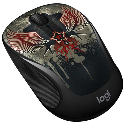Logitech Art M325 Wireless Optical Mouse - Black Taboo