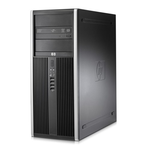 HP Elite 8000 Tower Core 2 Duo E8400 (3.00 GHz) 8GB 2TB HDD Windows 10 Pro, Refurbished