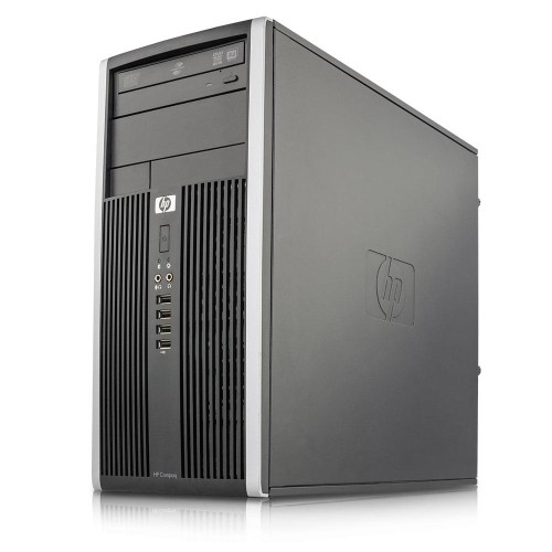 HP Compaq 6000 Pro Tower Core 2 Duo 2.8GHz 4GB RAM, 500GB Hard Drive, DVD, Windows 10 Home, Wi-Fi, Refurbished