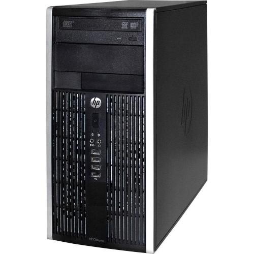 HP 8200 Elite Tower Intel Core i5 2400 3.1GHz 6GB RAM 1TB HDD Windows 10 Pro, Wi-Fi, Refurbished