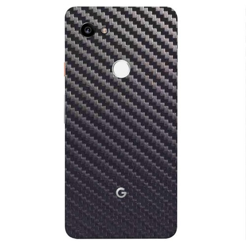 7 Layer Skinz Custom Skin Wrap for Google Pixel 2 XL (Gunmetal Carbon Fiber)
