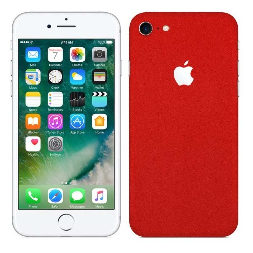 check out eaa5a ed24d 7 Layer Skinz Skin Case for iPhone 7 - Red - Online Only
