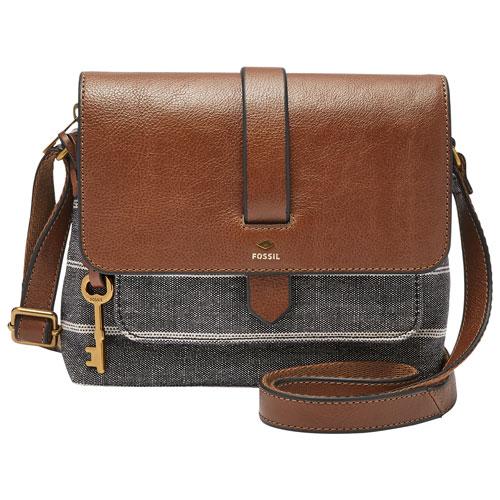 Fossil Kinley Cotton Crossbody Bag - Small - Chambray   Crossbody Bags -  Best Buy Canada 7e509e3b74d0f