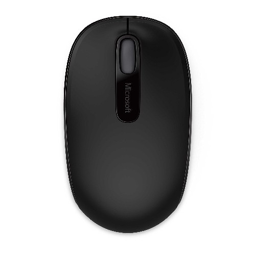 Microsoft Wireless 1850 Mouse Black 1000 dpi (for Left and Right Handed) 6 Months Battery Life