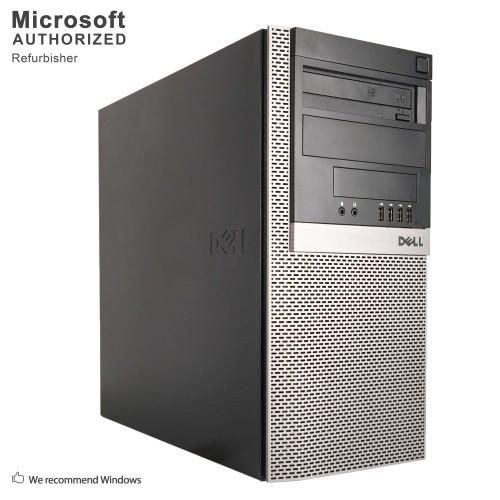 Dell Optiplex GX960 TW, Intel Core 2 Quad Q9400 2.66GHz, 8G RAM,500G HDD,DVD,WIFI,NVIDIA Quadro FX1700,WIN 10 HOME-Refurbished