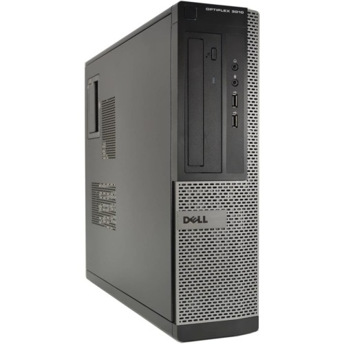 DELL 3010 Desktop Intel Core i5 3.4GHz 8GB RAM, 500GB Hard Drive, DVD, Windows 10 Pro - Refurbished