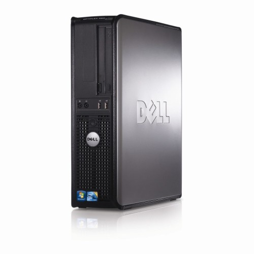 DELL 380 Desktop Core 2 Duo E7400 2.8GHz, 4GB RAM, 160GB HDD, DVD, Windows 10 Pro - Refurbished