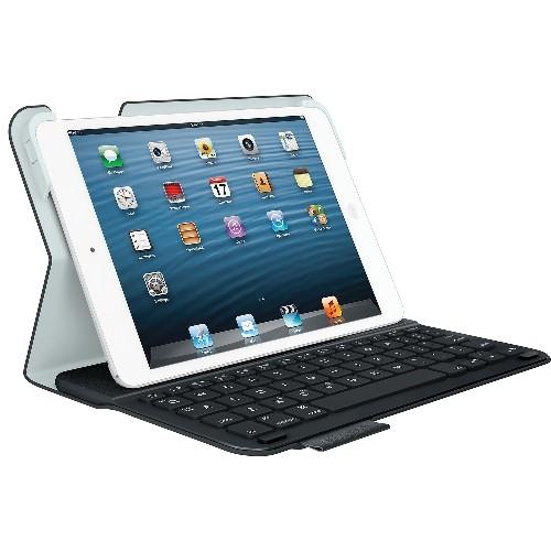 Logitech Ultrathin iPad Mini Keyboard Case (920-005893) - Carbon Black-Open Box