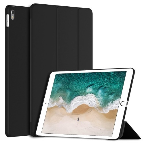 iPad Pro 10.5 Case, JETech Case Cover for the New Apple iPad Pro 10.5 Inch 2017 Model with Auto Sleep/Wake (Black)