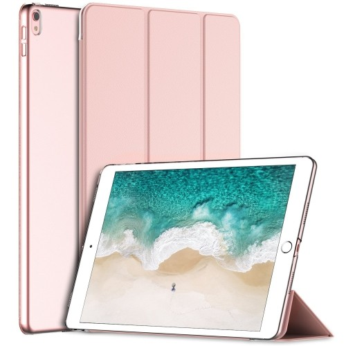 iPad Pro 10.5 Case, JETech Case Cover for the New Apple iPad Pro 10.5 Inch 2017 Model with Auto Sleep/Wake (Rose Gold)