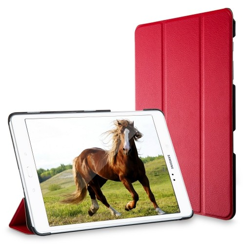 Tab A 9.7 Case, JETech® Gold Slim-Fit Case Cover for Samsung Galaxy Tab A 9.7 inch Tablet with Auto Sleep/Wake Feature (Red)