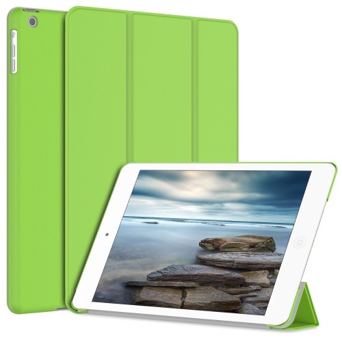 iPad Air Case, JETech® Gold Serial Slim-Fit Case Cover for Apple iPad Air iPad 5 with Auto Sleep/Wake Feature (Green)
