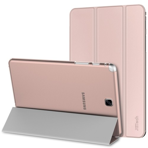 JETech Gold Slim-Fit Case Cover for Samsung Galaxy Tab A 9.7 inch Tablet with Auto Sleep/Wake Feature (Rose Gold) - 3220D
