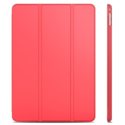 iPad Air 2 Case, JETech® iPad Air 2 Slim-Fit Case Cover, Lightweight Stand with Cover Auto Wake/Sleep (Red)