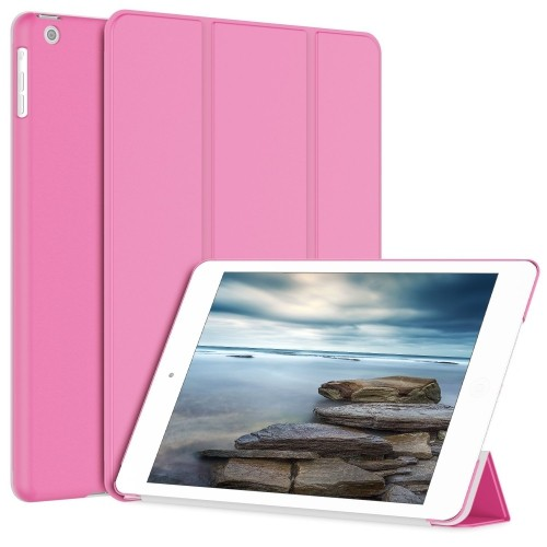 iPad Air Case, JETech® Gold Serial Slim-Fit Case Cover for Apple iPad Air iPad 5 with Auto Sleep/Wake Feature (Pink)