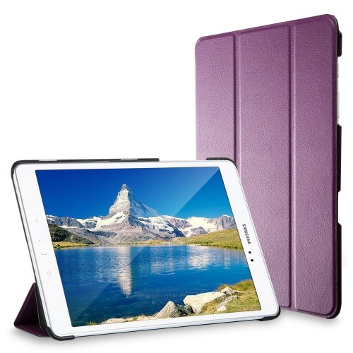 Galaxy Tab A 9.7 Case, JETech® Gold Slim-Fit Case with Auto Sleep/Wake Feature (Purple)
