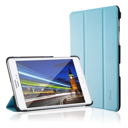 JETech Gold Slim-Fit Case Cover for Samsung Galaxy Tab A 8.0 inch 2015 Tablet with Auto Sleep/Wake Feature (Blue)