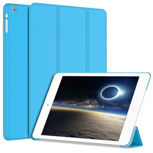 iPad Mini 3 Case, JETech® iPad Mini 1/2/3 All Models Slim-Fit Folio Case Cover with Auto Sleep/Wake Feature (Blue)